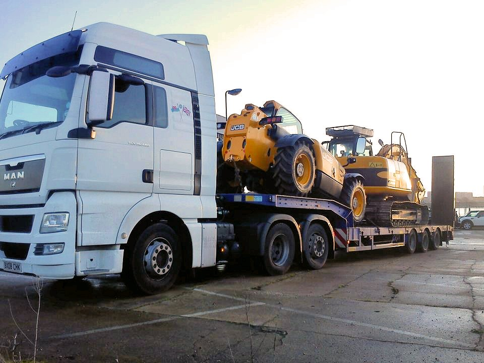 fast towing machinery transport