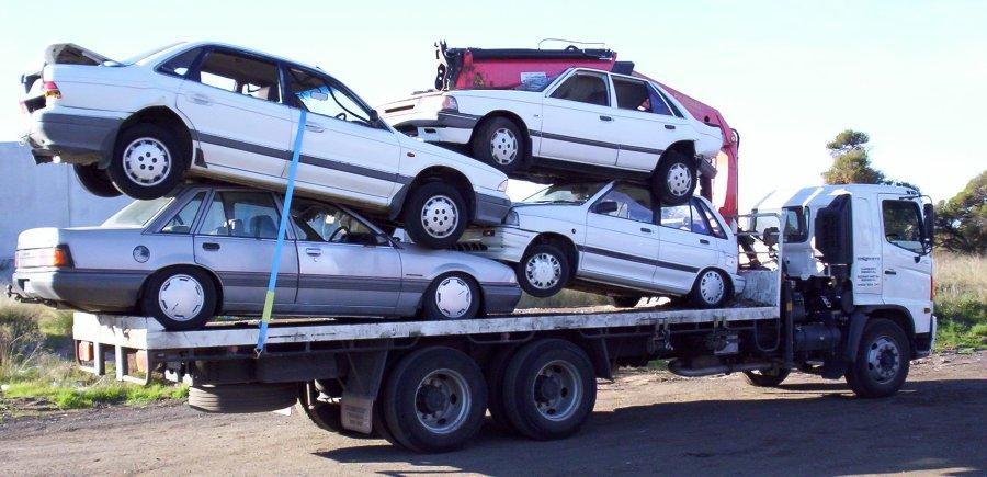 Scrap car clearence